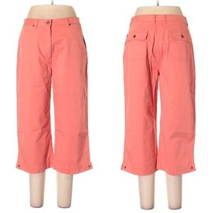 Jones NY Cropped Coral Pants